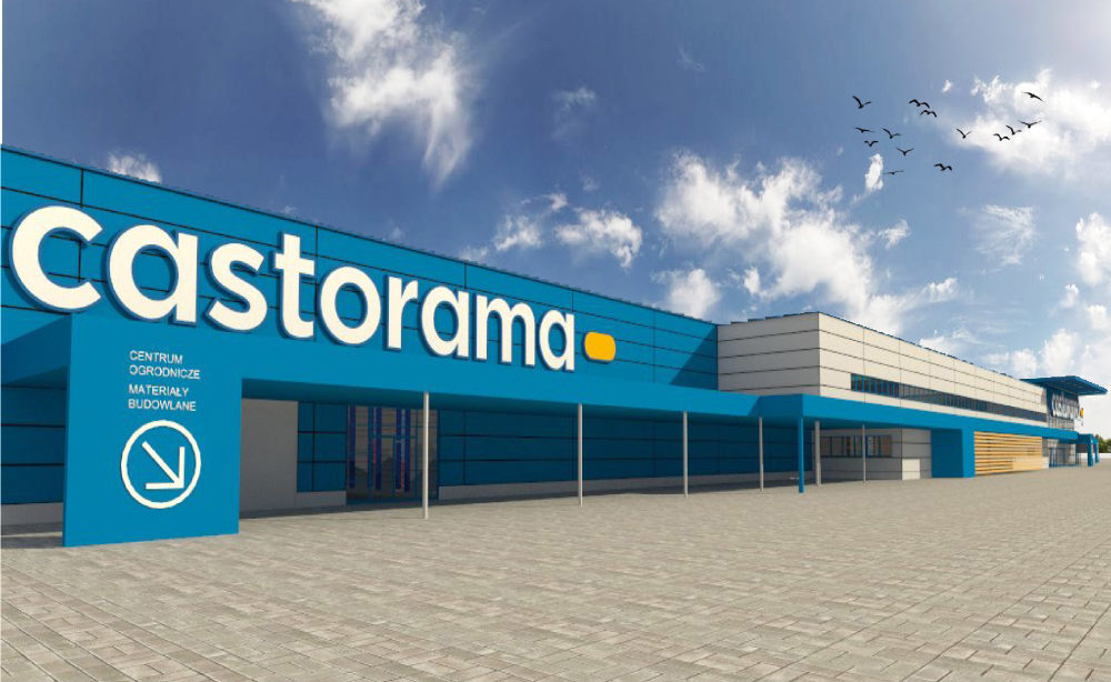 We started the construction of a Castorama in Komorniki