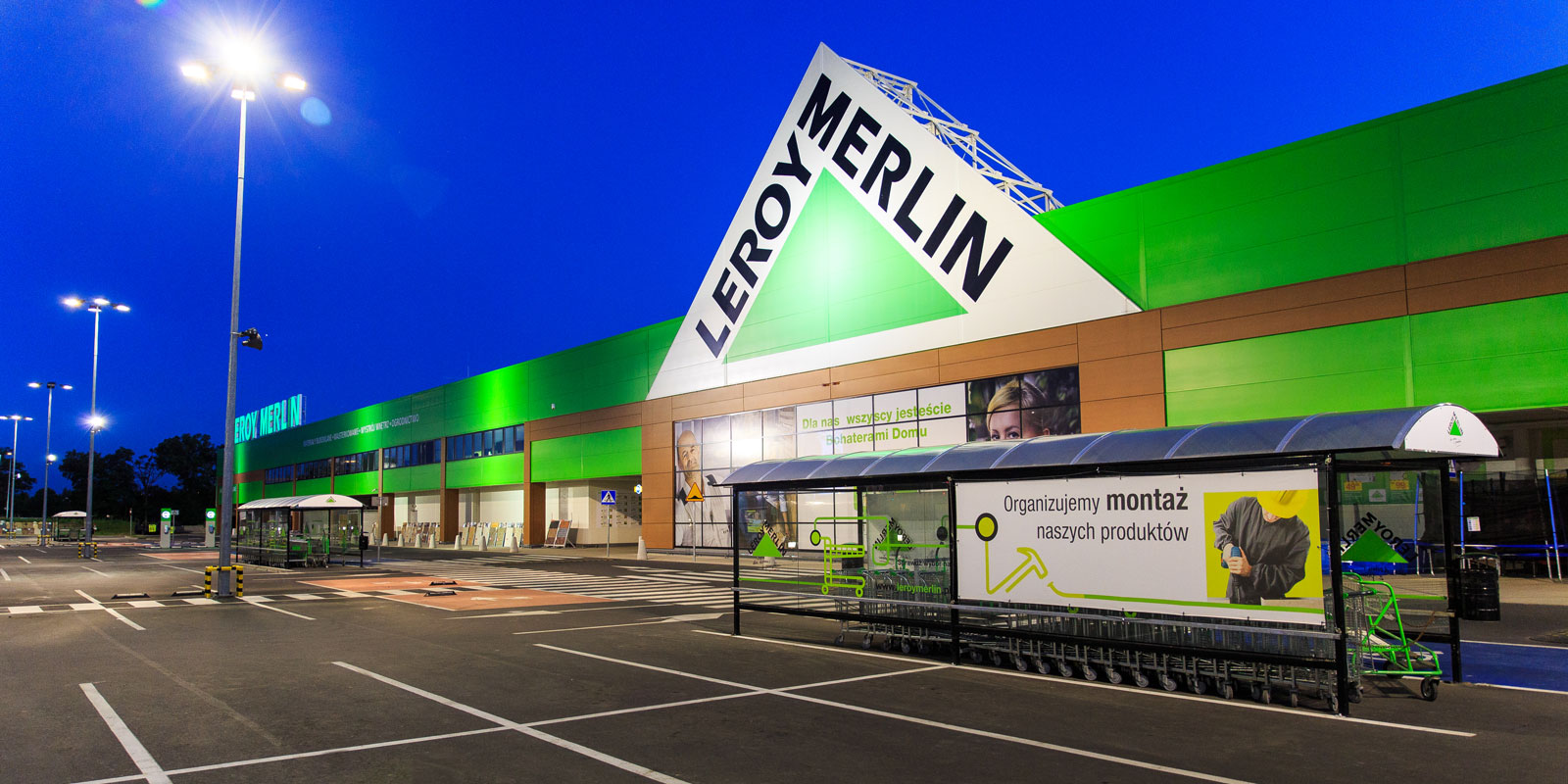 Leroy merlin public utility buildings completed projects for Coprigradini leroy merlin